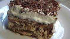 Απίθανη μπισκοτένια τούρτα σε μόλις 3 κινήσεις!