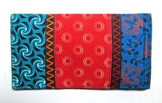 'Da Gama' shweshwe wallet R280 Fabric Wallet, Sling Bags, Pouch Pattern, Wallets, Purses, Fun, Handmade, Handbags, Hand Made