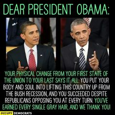 Indeed....PPL need to keep it REAL, the problems of America existed prior to his presidency, he was the clean up man and boi did HE do IT!  Thanks again PRESIDENT OBAMA, YOU'RE STILL MY  PRESIDENT IN MY EYES!