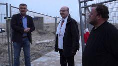 het strand van Katwijk is geopend