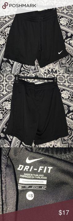 Nike shorts!! Longer Nike shorts but can be folded up!! Really nice barely worn in EUC!! Size:XS  Nike Shorts