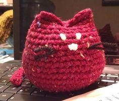 "Crochet ""Beans"" the Kitty"