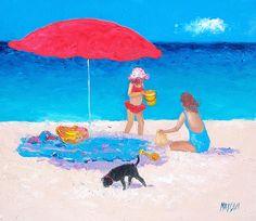 Beach painting #beach #beachdecor