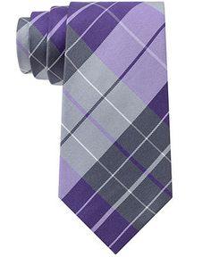 Kenneth Cole Reaction Palm Plaid Tie - Ties & Pocket Squares - Men - Macy's