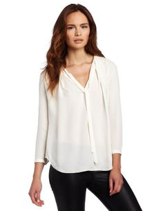 Halston Heritage Women's Long Sleeve Pleated « Clothing Impulse