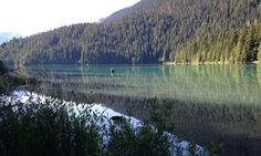 Whistler: Cheakamus Lake is tucked in behind Whistler Mountain. If you've hike the Musical Bumps trail, or any of the paths off the peak of Whistler, chances are you saw a huge turquoise lake below you.