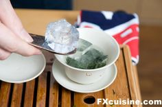 The ice method for Japanese Green Tea