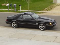 1984 Mustang GT my room mate had one in the Navy.  I used to love that car.  His was red though.