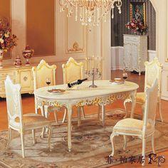 Mesa de mejores precios de china - italiano comedor muebles clásicos muebles de comedor de lujo-imagen-Mesa de madera-Identificación del producto:363954622-spanish.alibaba.com
