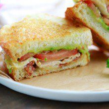 California Club Grilled Cheese Sandwich at laurenslatest.com