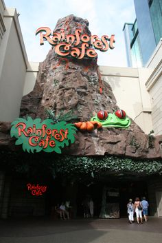 Rainforest Cafe, Niagara Falls  symphony-i went to the one in chicago and it is a amazing place!!!!!!!