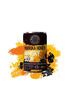 Not Too Sweet, Just Right  Our Manuka Honey Whiskey Sour is a blend of manuka, scotch whiskey, lemon and a hint of caramel.  Fancy a tipple? Get in touch. Honey Whiskey, Whiskey Sour, Scotch Whiskey, Cocktails In A Can, Bitter Blood, Coconut Vodka, Sour Cocktail, Manuka Honey, Old Fashioned Cocktail