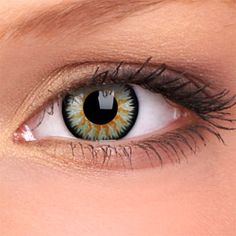 Green Glamour Contact Lenses (Pair)