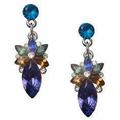 Agnessa Leaf Resin Earrings