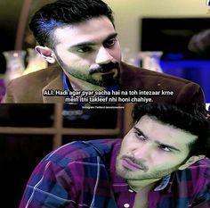 Crazy Friends, Friends In Love, Mood Quotes, Life Quotes, Pak Drama, Feroz Khan, Hania Amir, Urdu Poetry Romantic, Pakistani Dramas