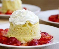 easy individual microwave cake
