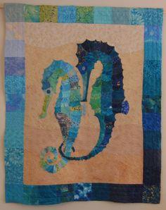 Seahorse Patchwork Quilt