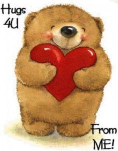 Valentine's Day Quotes, Cute Quotes, Emoji, Hug Images, Teddy Bear Hug, Cute Hug, Bear Gif, Hug Gif, Hugs And Cuddles