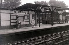 Charlottenburg S-Bahn, West Berlin, 12 September 1959