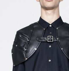 comme de garcons shoulder piece armor reference