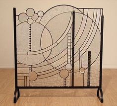 art deco fireplace screen - Google Search