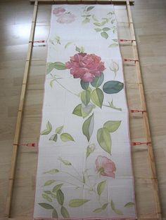 Hand painted silk scarf silk art scarf wedding accessory