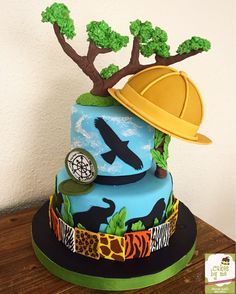 Safari Cake  By Cakesbyme