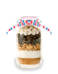 S'More Mason Jar Cookie Mix  Cookie Mix in a by MasonJarMixes, $14.99