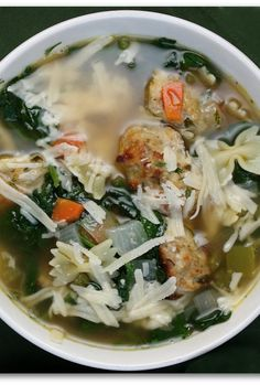 Italian Wedding Soup #recipe