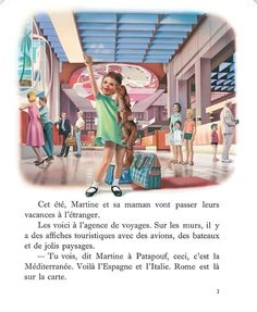 Martine en avion Marcel, Images, Animation, Recherche Google, Illustrations, Cartoon, Travel Agency, Boats, Italy