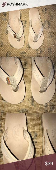 RAINBOW Double Layer Leather Thick Strap Flip Flop *** I Post Pictures and approximate measurements for your reference only, please do your due diligence. #rainbowsandals #rainbowshoes #rainbowflipflops #rainbowleatherflipflops #rainbowleathersandals Rainbow Shoes Sandals