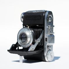 35Mm Camera | Balda Baldinette 35mm folding camera, retro mid century antique ...