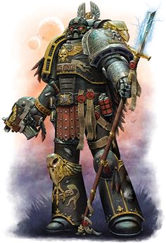 Hello, here is a piece that's been released on the Fantasy Flight Games website, for the upcoming Deathwatch book 'The Emperor's Chose. Warhammer 40k Art, Warhammer Models, Warhammer Fantasy, Warhammer Deathwatch, Space Marine, Grey Knights, Aliens, Marvel, Sci Fi Art