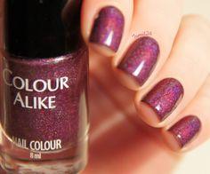 fall in ...naiLove!: Colour Alike #502: Figa z makiem!