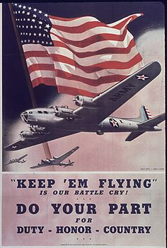 WWII Poster, 17-0641a, via Flickr.