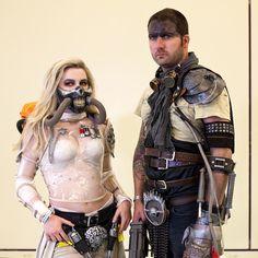 Immortan Joe and Furiosa cosplay at Fan Expo Canada 2015