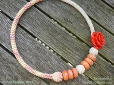 STUNNING :: Necklace GIVEAWAY :: silk + coral :: Enter raffle now ::  in-time delivery for #mothersday #gift.