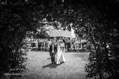 Archway at Cripps Barn wedding