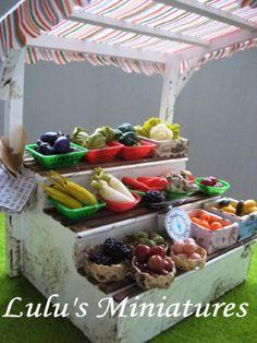 Miniature fruits & veggies market