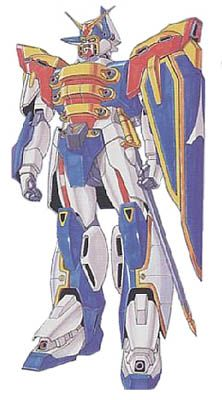 Mobile Fighter of Neo France during the 7th Gundam Fight. Formerly piloted by the old Shuffle Alliance Jack in Diamond.