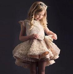Rsslyn Golden Dress with Free Golden Tiara Free