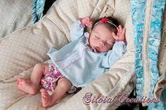 Kit Reborn Vinyl Doll Baby Megan Pat Moulton