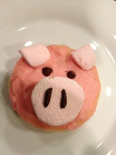 This Little Piggy   Theme sugar cookies for a kid's party or just for fun, very easy to make