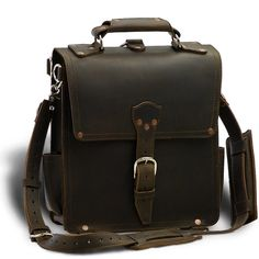 awesome and expensive leather messenger bag/convertible backpack