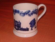 Emma Bridgewater Blue House Pint Mug 1992 Emma Bridgewater Pottery, English Pottery, Furniture Decor, Mugs, Tableware, Tabletop, Dresser, House, England