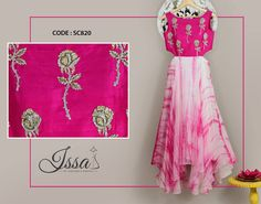 SC820: Our new cut out dress is as pretty as it looks!!!To order please call/ WhatsApp on 9949944178 or mail us @issadesignerstudio@gmail.com 22 August 2016 18 October 2016