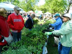 This year's massive plant sale on Rutgers' Cook Campus in New Brunswick will be conducted from 10 a.m. to 4 p.m. Saturday, April 30. This is a scene from a previous sale. (Photo: ~Photo courtesy David Smela)