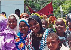 Smiling girls in Tanzania by usaid.africa