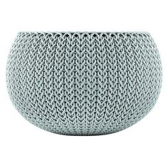Curver Small Knit Cozie Planter - Green/Blue Mist : Target