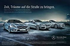 #MercedesBenz #DreamCars Campaign in 2013 http://www.benzinsider.com/2013/05/mercedes-benz-rolls-out-dream-cars-campaign/